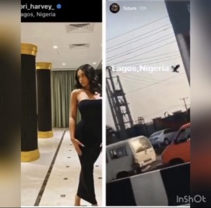 American rapper and multiple award winner Future has arrived Africa's most populous city Lagos for the first concert he will headline in Africa. The event is scheduled to hold at Eko Convention Centre, Victoria Island on Sunday and it is being organised by Toro Entertainment Company. The multi-award-winning artiste had taken to his Instagram story on Saturday to share a video of his arrival and he didn't hesitate to tag the location on the left side of the video.