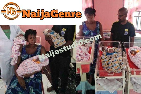 A Woman Born Three Children After 11 Years Of Marriage