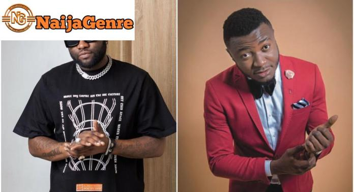 Mc Galaxy Is On The Verge Of Being Beaten Up By Skales