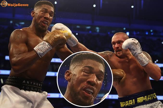 Following His Bout With Oleksandr Usyk, Anthony Joshua Was Taken To The Hospital