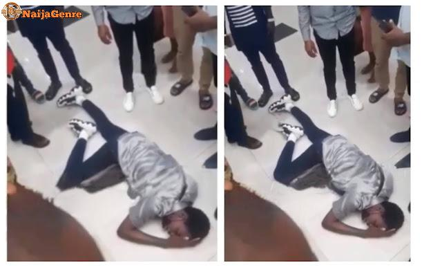 A Nigerian Guy Recharges His Airtime For N3 Million Instead Of N3000 (Video)