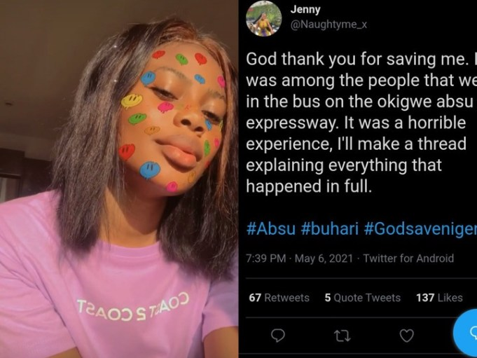 absu student who escaped kidnapping