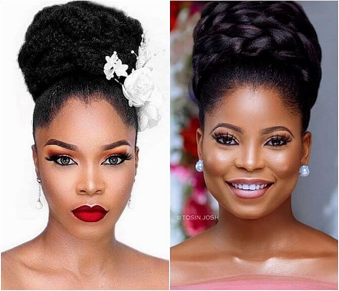 How To Do Packing Gel Updo Natural Hair Hairstyles Video