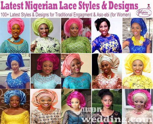 photo of nigerian women in assorted lace styles and designs