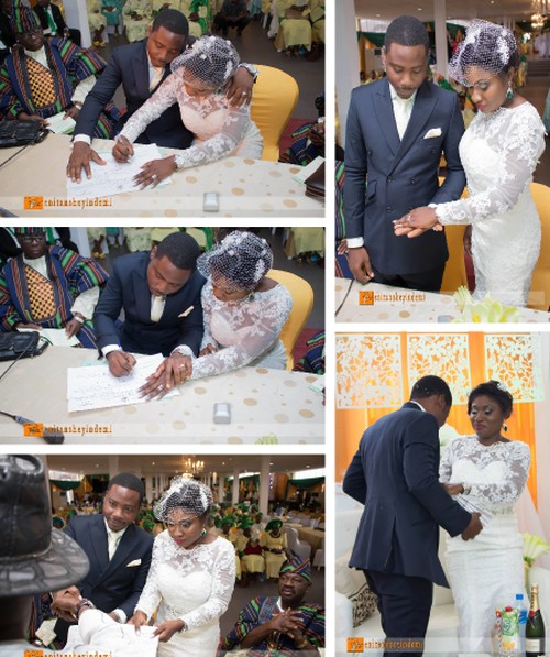 court registry wedding signing pictures