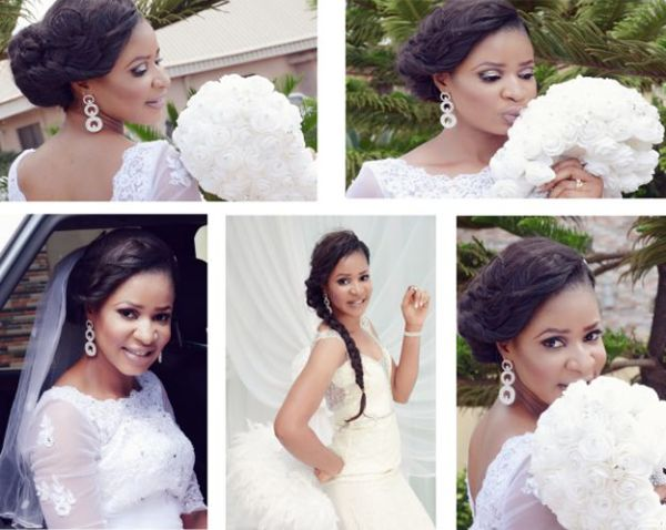 pictures of beautiful brideal portrait from a nigerian white wedding pictures