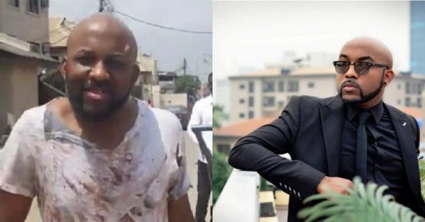 Afer being robbed, Banky W was asked to sing by the armed robbers