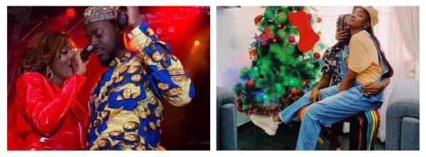 Adekunle Gold and Simi share cute photo to celebrate 2019 Christmas
