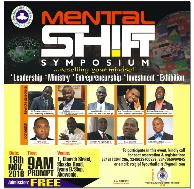 mental shift symposium