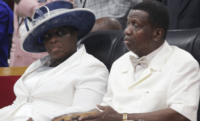 Pastor Adeboye and Wife, Folu