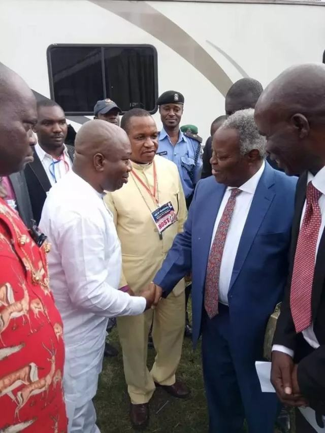 Pastor Kumuyi at Bori, Rivers State where 5000 cultists surrendered to Christ