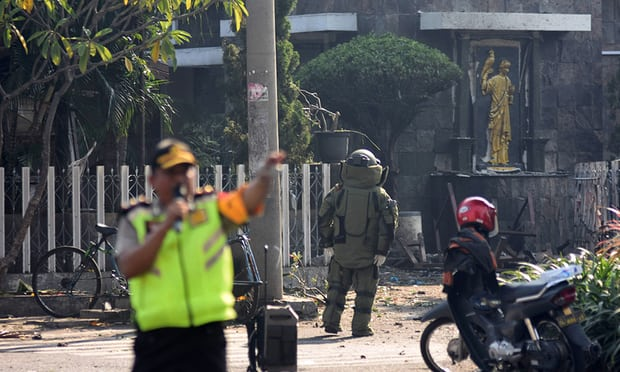Three Churhces Bombed in Indonesia