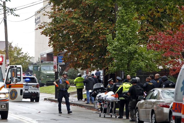 Tree of Life Synagogue in Pittsburgh, Pennsylvania