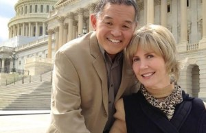Joni Eareckson Tada and her husband, Ken Tada