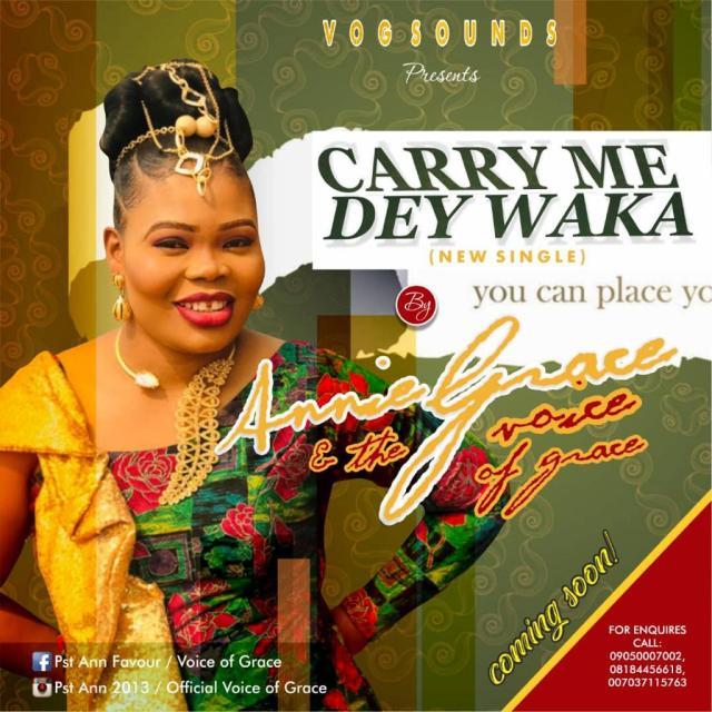 carry me dey waka