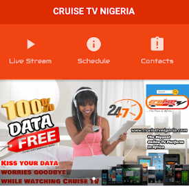 Stream Live Shows and Movies on Cruise TV for Free Using MTN Network – 100% Data Free