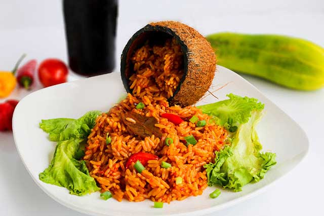 How to prepare Coconut Jollof Rice