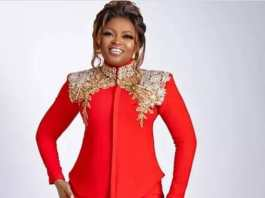 Funke Akindele Red