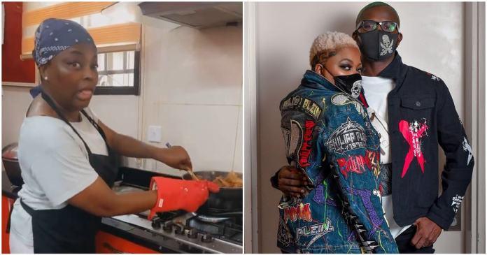 Funke Akindele husband, JJC Skillz gushes over her culinary skills (Video)