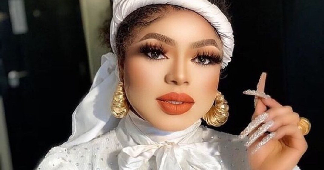 Crossdresser, Bobrisky shows off his son for the first time (Video)
