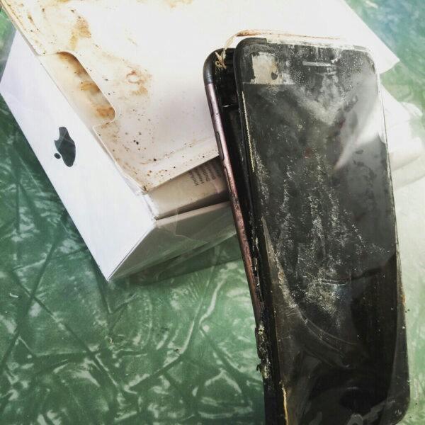 Explosion In Phones   iPhone 7
