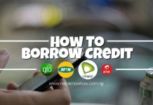 How To Borrow Credit On Airtel, Etisalat, Glo & MTN