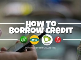 How To Borrow Credit On Airtel, Etisalat, Glo & MTN