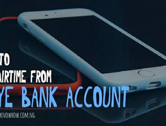 Skye Bank Airtime Recharge Code