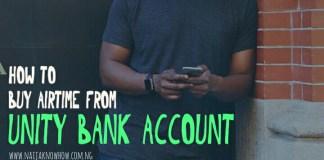 Unity Bank Mobile Recharge Code