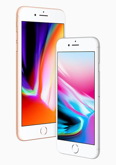 apple iphone 8 display