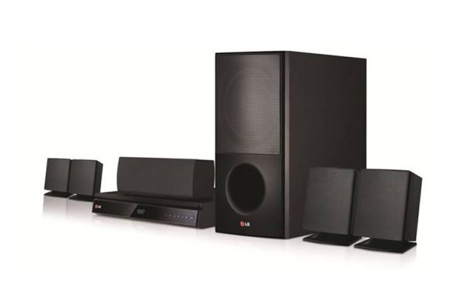 LG 1000W Bass Blast Home Theartre-AUD6231 - LG HOME THEATRE SOUND SYSTEM