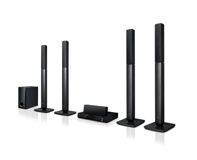 LG 1000W Bluetooth DVD Home Theatre LHD655B - LG HOME THEATRE SOUND SYSTEM