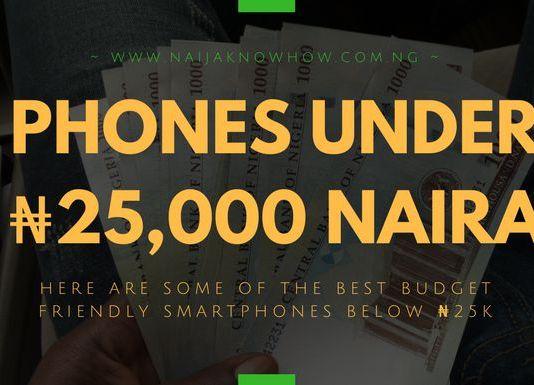 Best Phones Under 25000 Naira in Nigeria