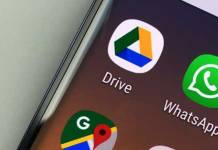 google drive and whatsapp