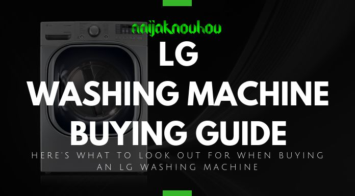 LG WASHING MACHINE BUYING GUIDE