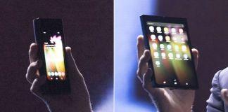 Samsung Folding Screen Smartphone