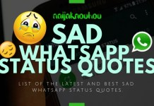 SAD WHATSAPP STATUS QUOTES