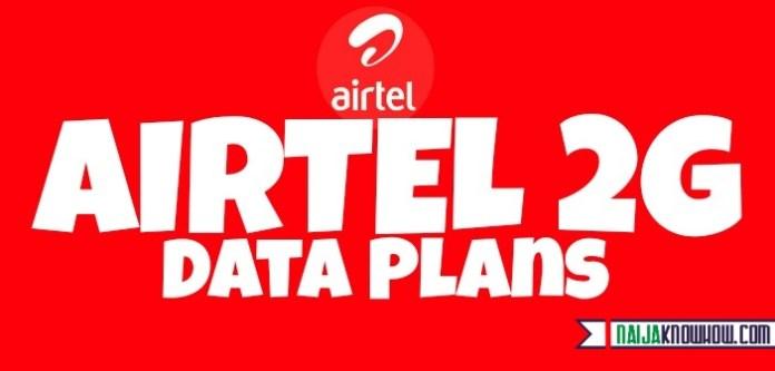 Airtel 2g data plans