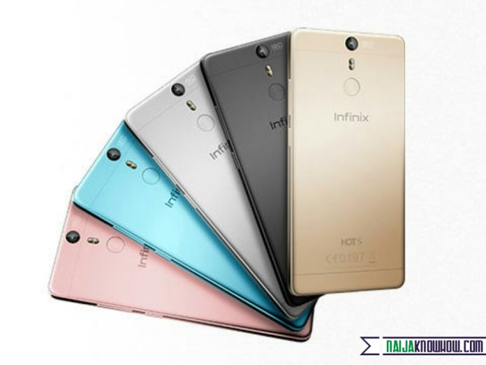 Infinix Hot s colour variants
