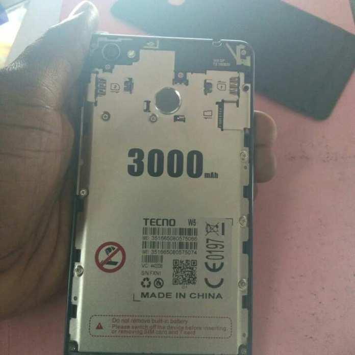 TECNO W5 3000mAh battery