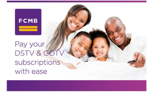 pay DSTV and GOTV subscriptions with FCMB