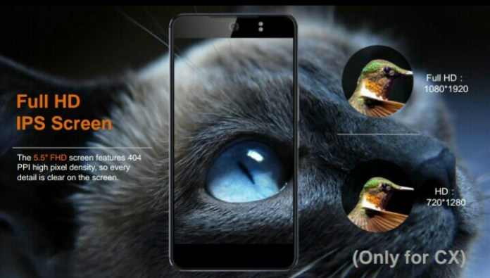"""TECNO Camon CX – 5.5"""" Full HD IPS Screen"""