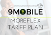 9MOBILE MOREFLEX TARIFF PLAN