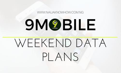 9mobile (Etisalat) Weekend Data Plans & Subscription Codes