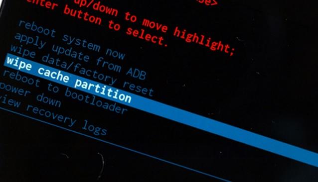 wipe cache partition
