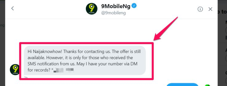 9Mobile 1GB For N200 Data Plan and Subscription Code in Nigeria