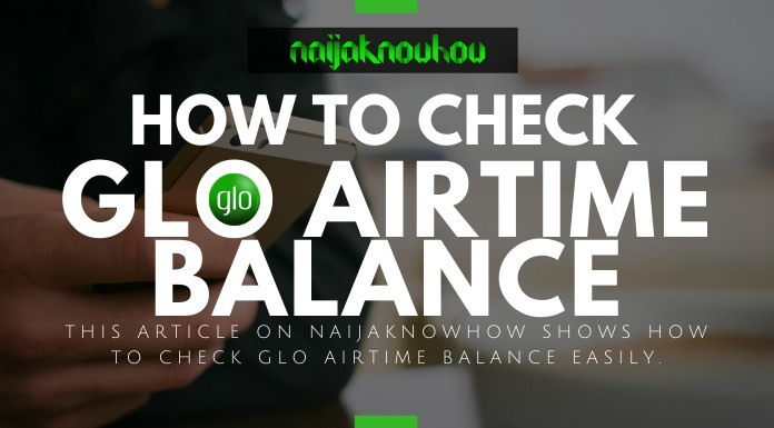 How To Check GLO Credit Balance (Airtime Balance Code)