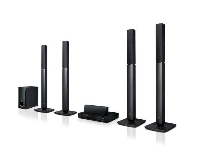 LG 1000W Bluetooth DVD Home Theatre LHD655B - LG HOME THEATRE SOUND SYSTEM