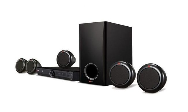 LG-HT358 Home Theatre - LG HOME THEATRE SOUND SYSTEM
