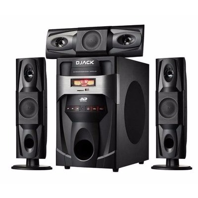 Djack 3.1 Heavy Duty Bluetooth Sub Woofer Home Theatre System - DJ-J3L/Cheapest & Best Home Theatre Systems in Nigeria